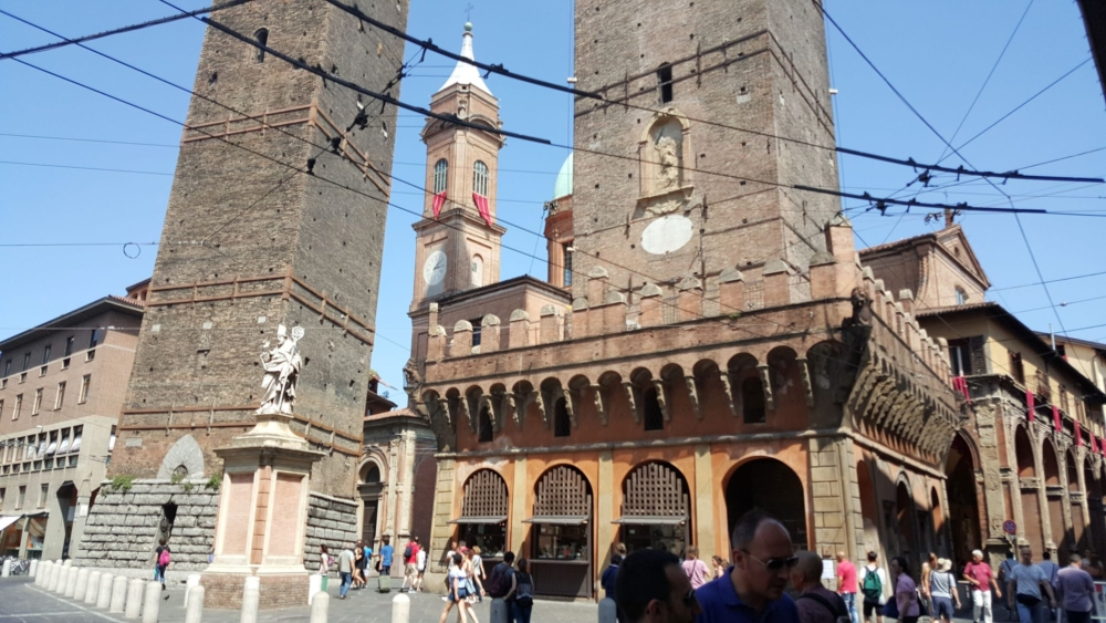 Bologna old town