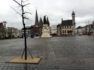 A square in Ghent