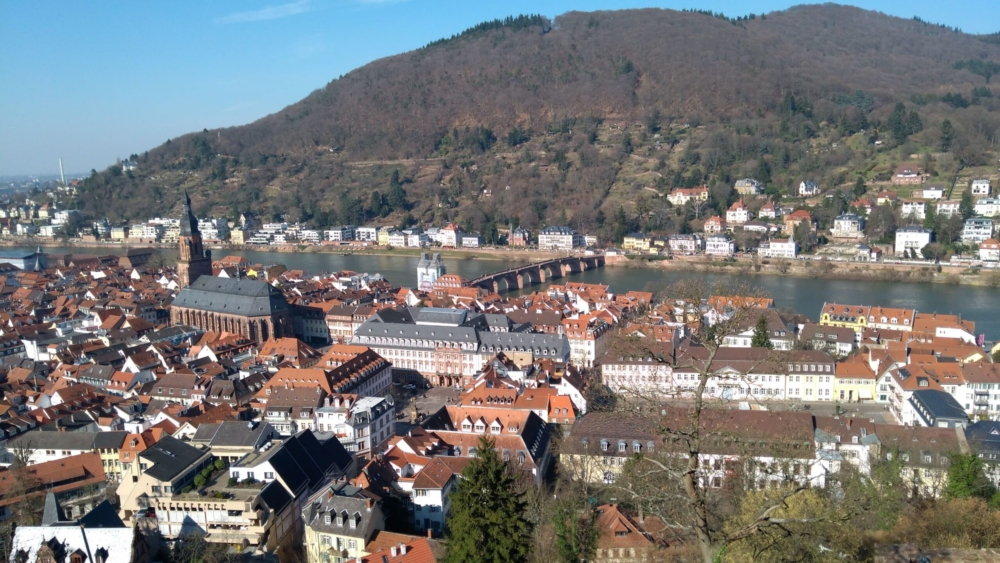 Heidelberg from the castle