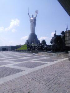 Monument in Kiev