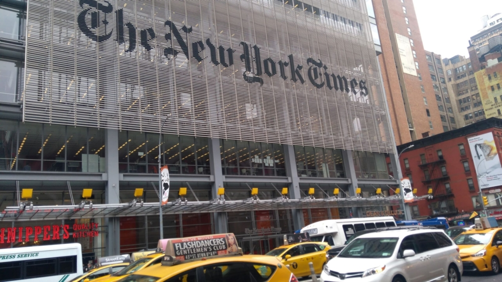 New York Times Building, New York