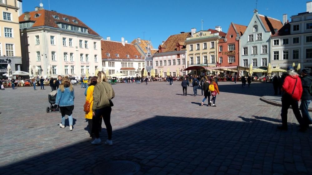 Square in Tallinn